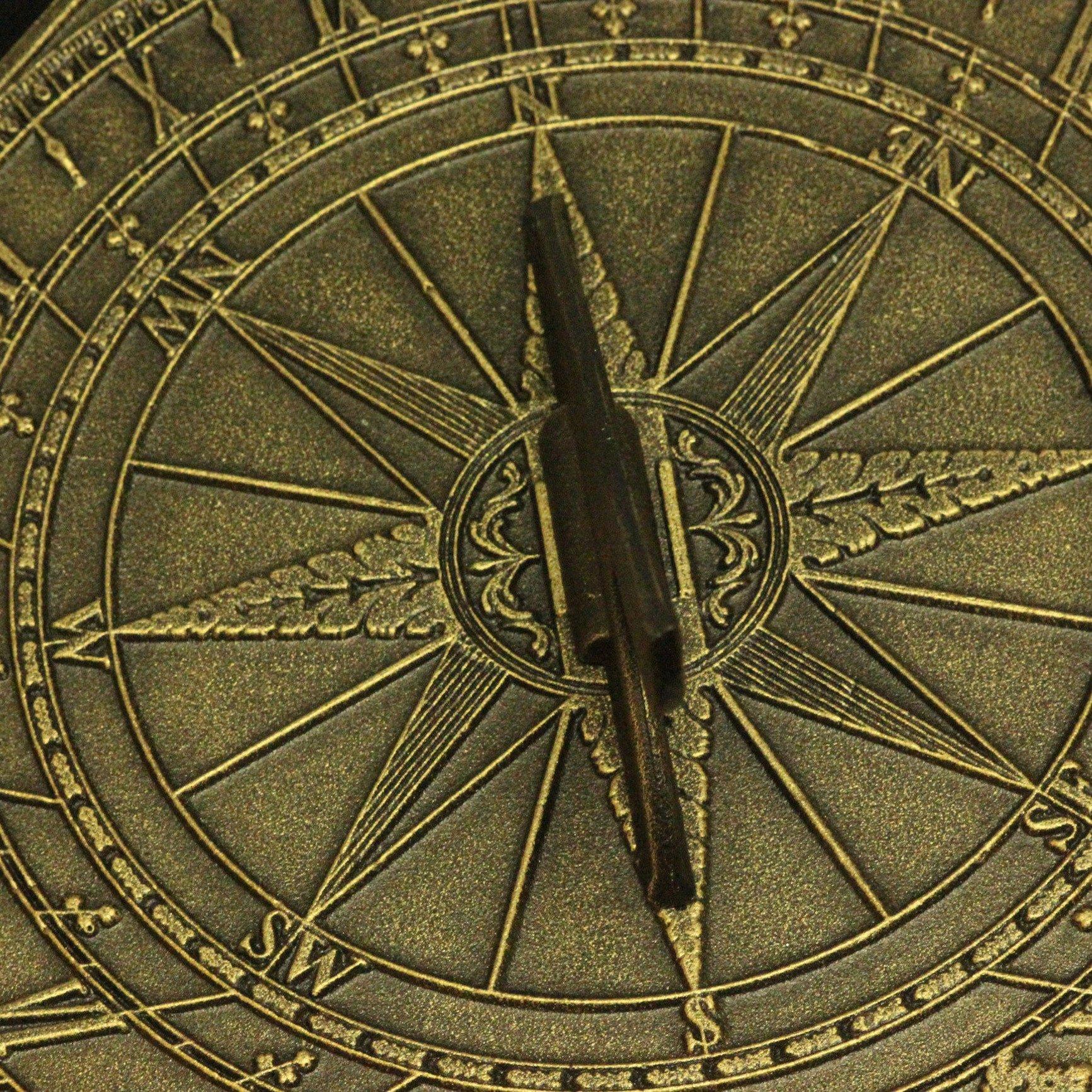 George Washington Sundial with Aged Bronze Finish by George Washington's Mount Vernon (Image #2)