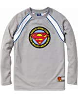 "Superman Boys Long Sleeve ""S"" Logo Jersey"