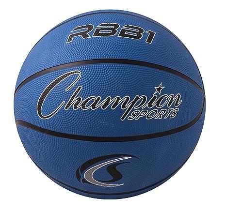 Champion Sport Pro - Balón de Baloncesto de Goma, Color Azul ...