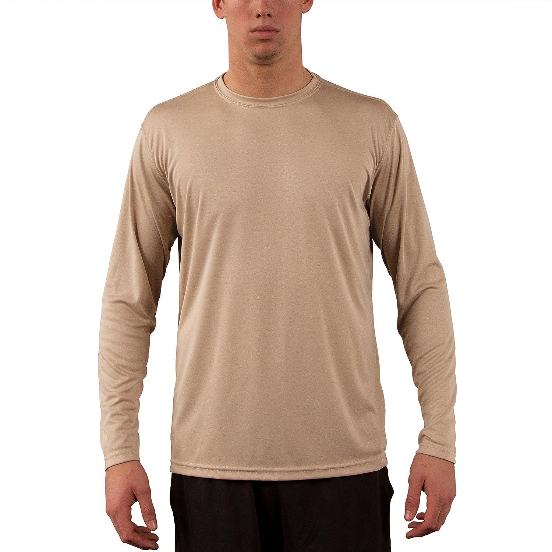 Vapor Apparel メンズ UPF 50+ UV /サンプロテクションロングスリーブTシャツ B00F9LLRJS M|タン タン M