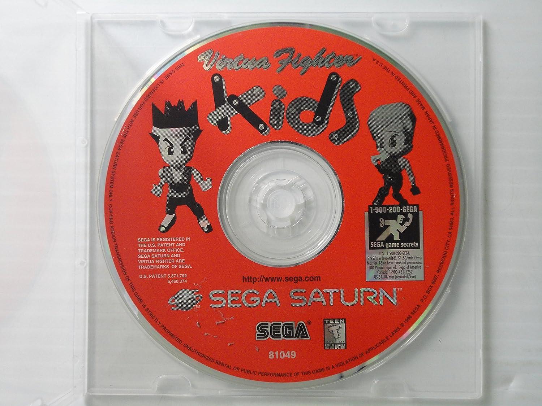Virtua Fighter Kids - Sega Saturn