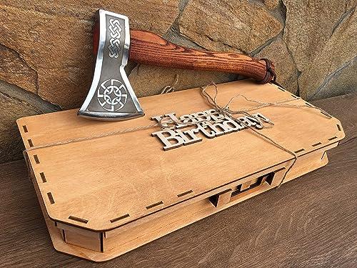 steel gifts for men viking axe handyman tool axe Kratos axe Mens gift 11th anniversary iron gifts anniversary gift steel tomahawk