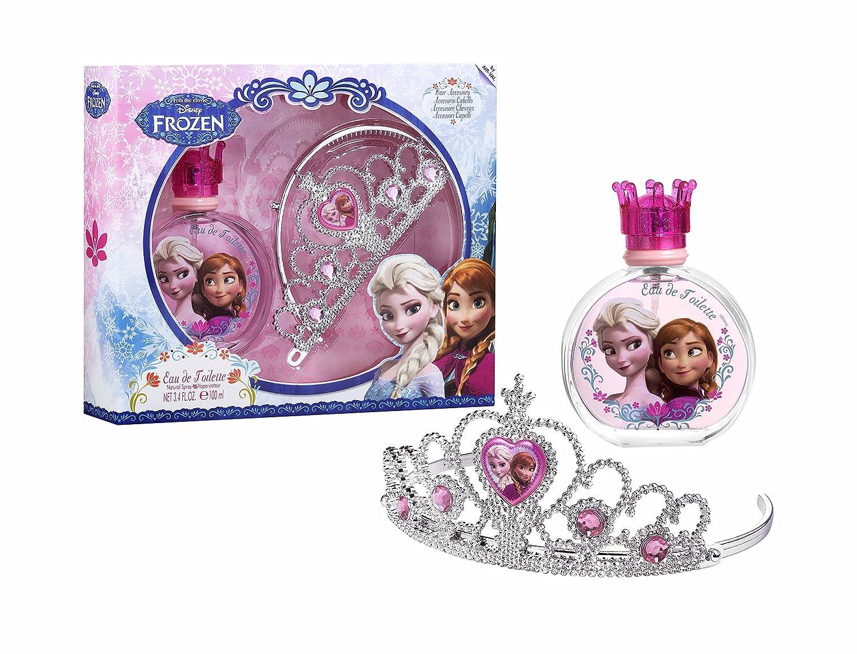 Frozen by Disney for Kids - 2 Pc Gift Set 3.4oz EDT Spray, Hair Accessory Nandansons (DROPSHIP) 6338