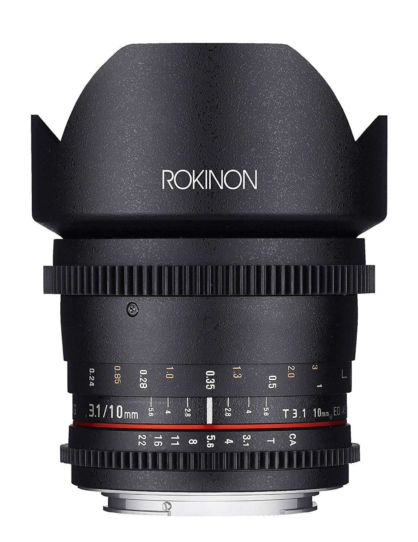Rokinon Cine cv10 Nikon m-n 10 t3.1 mm Lens t3.1 Cine Wide Angle Lens for Nikon (DX)カメラ B00K3T3M7Q, ミニスキャンダル:8ba47aff --- ijpba.info