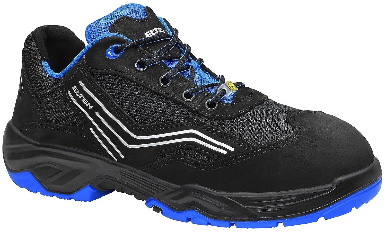 - ELTEN Sicherheitsschuhe AMBITION Blau Low ESD ESD S1, Herren, sportlich, leicht, schwarz blau, Stahlkappe  100% anbieten