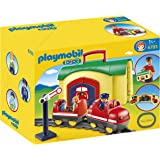 Playmobil - 6783 - Figurine - Train Avec Gare Transportable