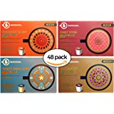 Barissimo Coffee Keurig K-Cup Variety Pack - Breakfast Blend, Donut Store, French