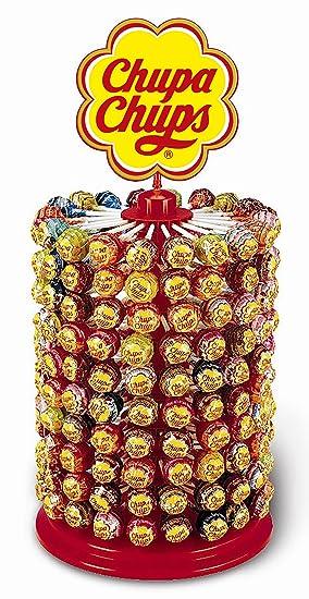 Chupa Chups Caramelo con Palo de Sabores Variados - Rueda de 200 unidades