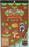 Darice 324 Piece, Woodland Critters Theme Activity Sticker Book