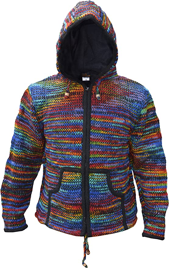 stricht wolle winter jacke hippies
