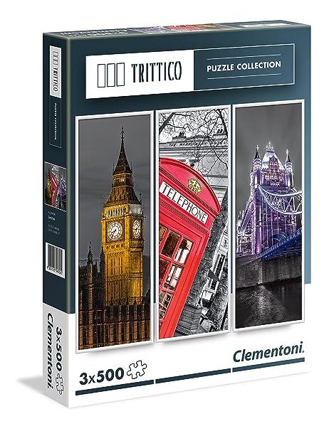 Clementoni London Landmarks Puzzle (500-Piece, Pack of 3)