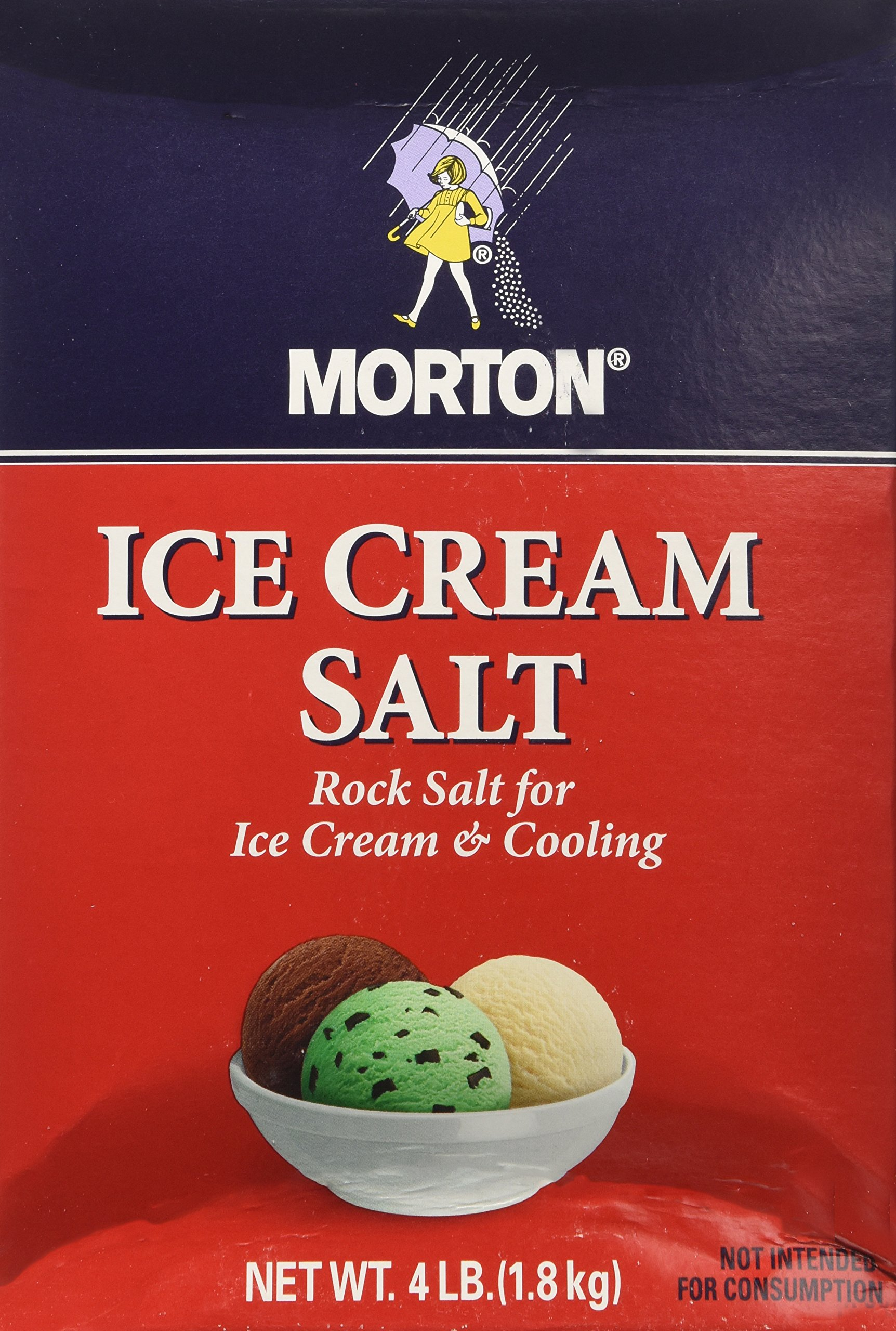 Morton Salt Company Ice Cream, 4 lb