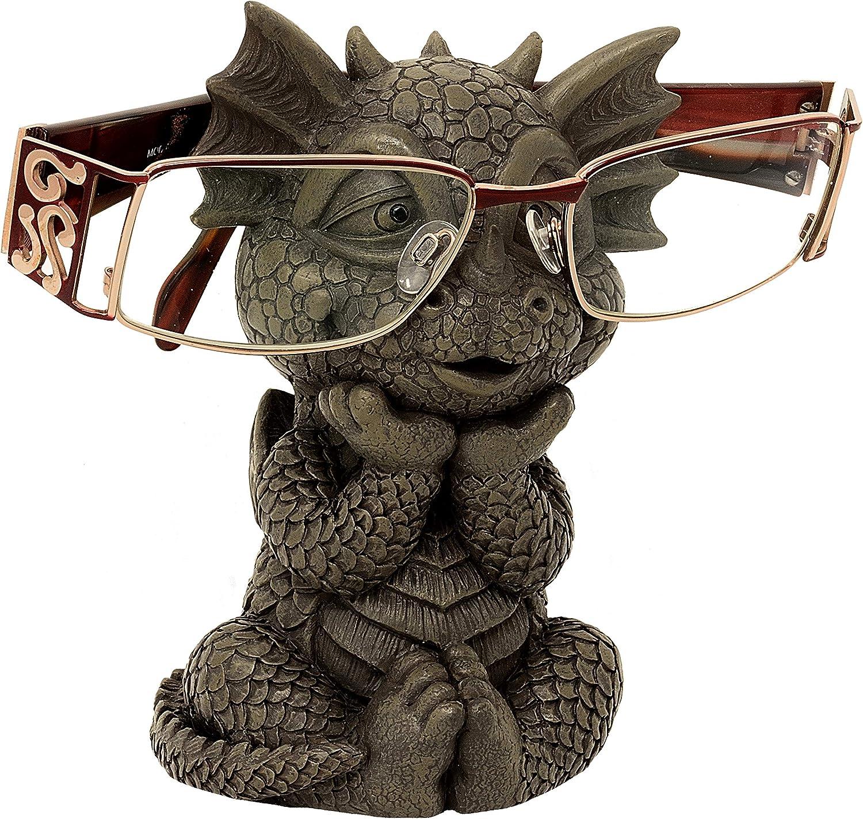Modelo gafas Buddy peque/ño MystiCalls Figuras de drag/ón de jard/ín Fantasy Figura decorativa de drag/ón jard/ín