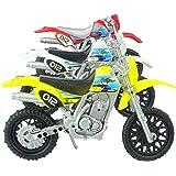 Set Of 3 Toy Motorbikes - Random Colours - Approx Size 15cm - Boys Toys