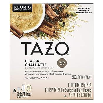 Tazo Classic Chai Latte K-cups