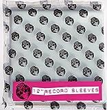 """Vinyl Guru® Pack of 50 x 12"""" inch Vinyl Record Album LP 450 Gauge Polythene Sleeves Covers 330mm x 335mm 112.5 Micron"""