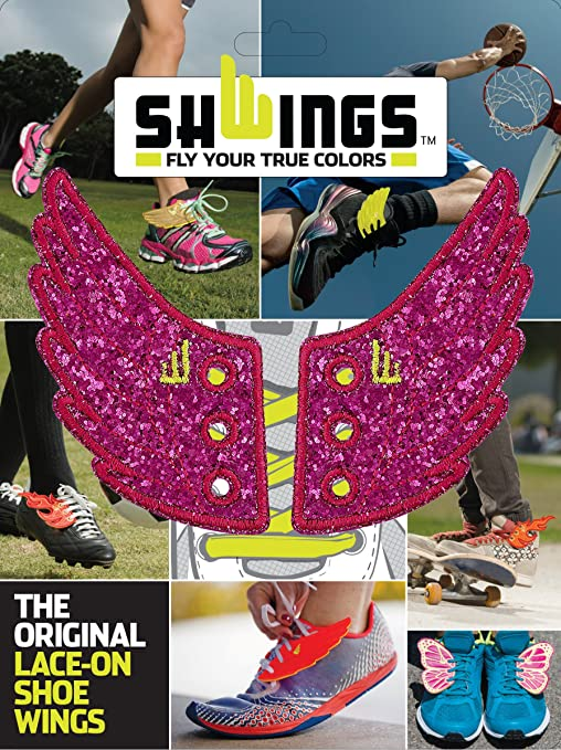Amazon.com: The Original Shwings: Fly Your True Colors - Fuchsia Wings (10706): Toys & Games