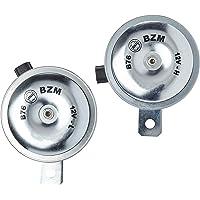 Buzinas Eletromagnética dupla 335Hz L e 410Hz H 12V. Conector SUMITOMO - B76 BZM