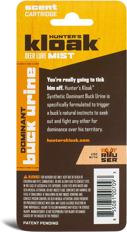 Hunters Kloak Dominant Buck Urine