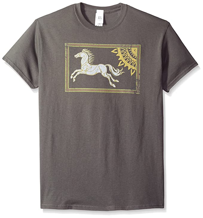 73f41b69 Trevco Men's The Lord of The Rings Rohan Banner T-Shirt: Amazon.in:  Clothing & Accessories