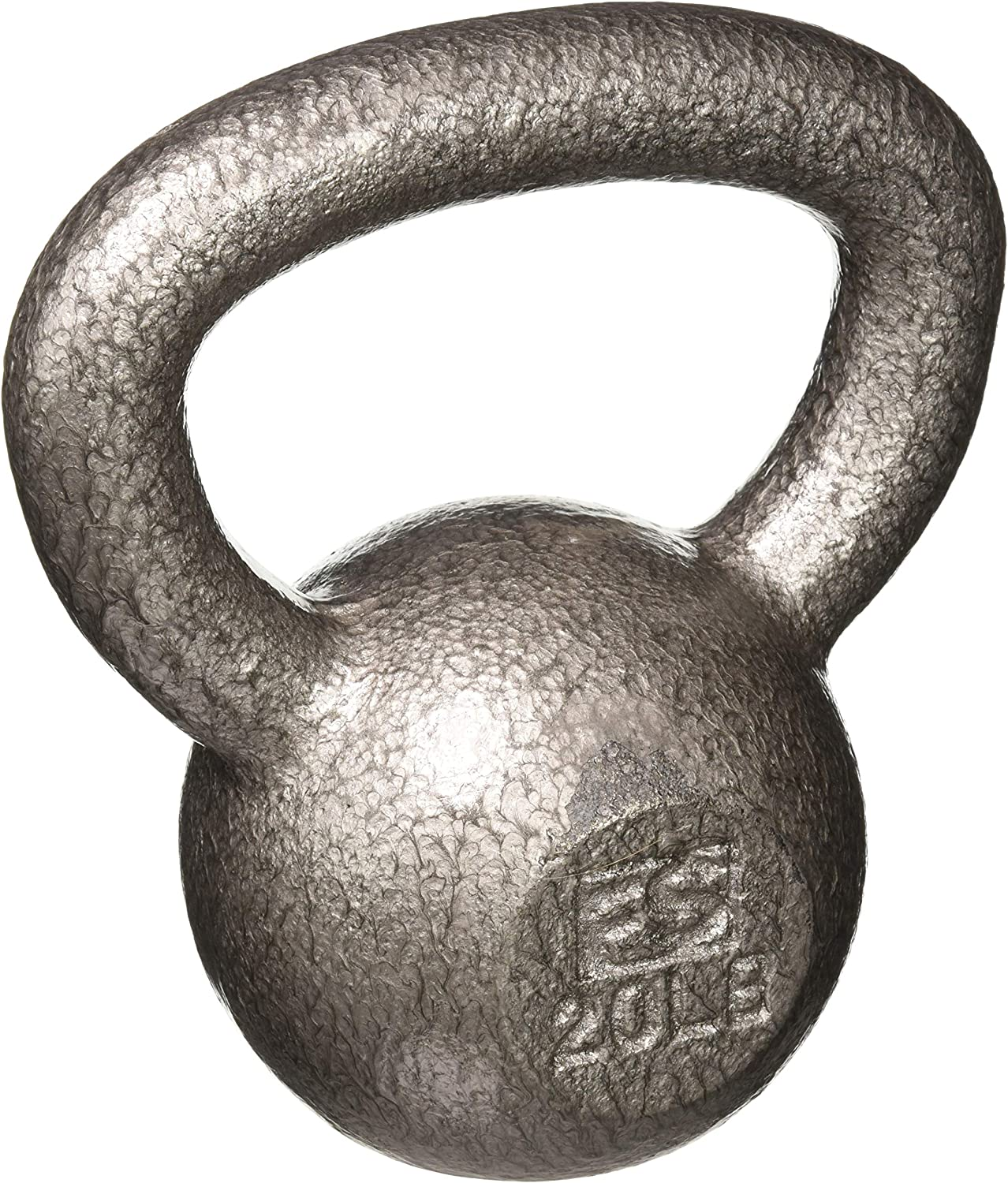 Kettlebell Weights Vinyl Coated Iron by Day 1 Fitness- 10 Sizes Available, 5-50 Pounds – Coated for Floor and Equipment Protection, Noise Reduction – Free Weights For Ballistic, Core, Weight Training