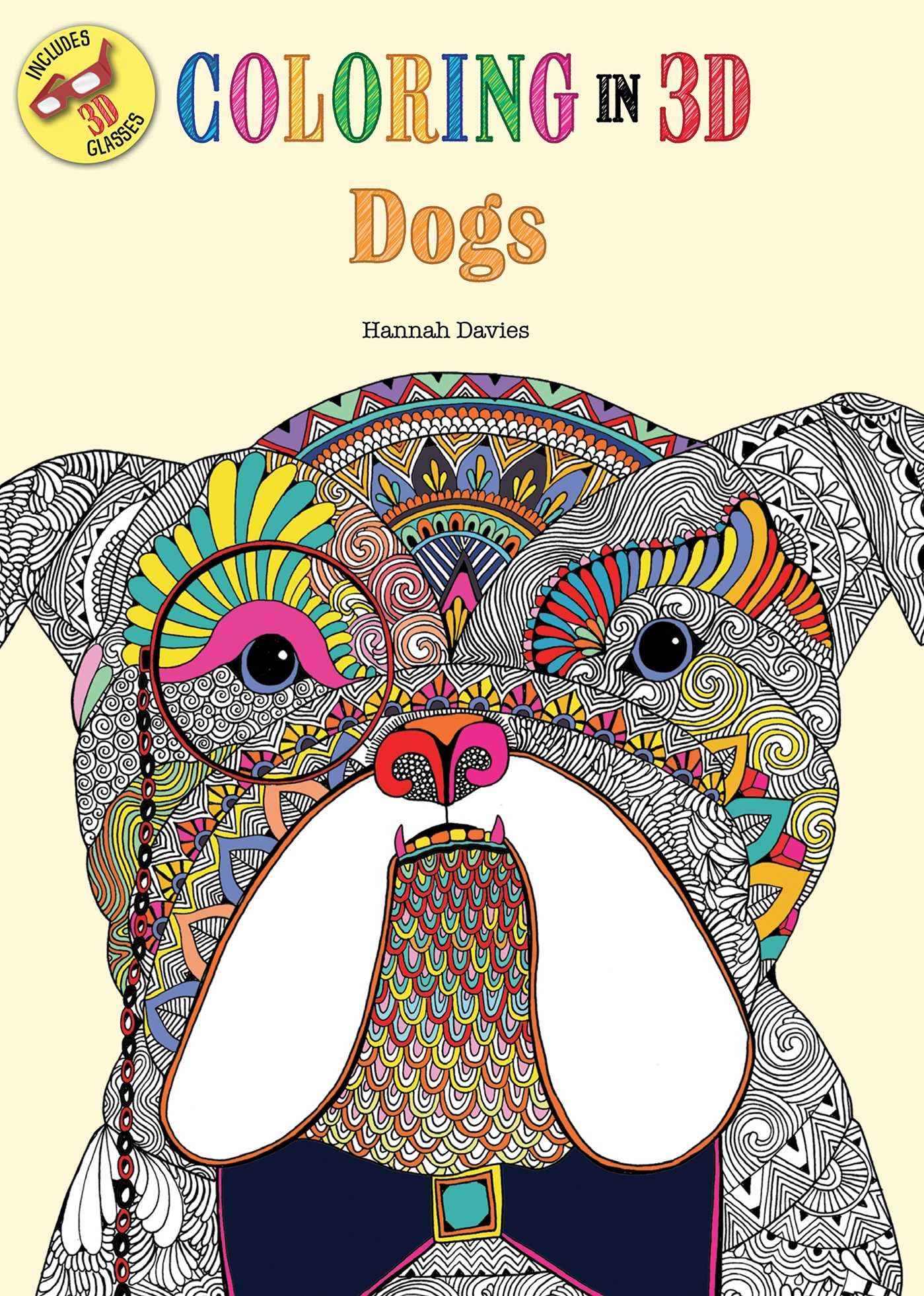 Coloring in 3D Dogs pdf epub