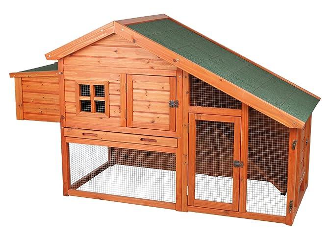 Amazon.com: Trixie Pet Products gallinero con vista: Jardín ...
