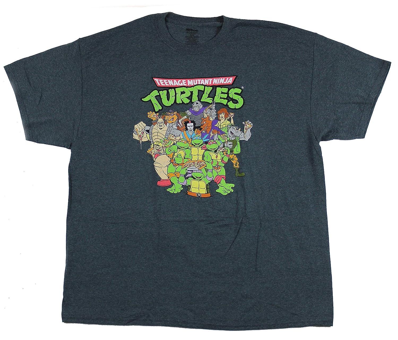 maikeerFreeze Mens Teenage Mutant Ninja Turtles Cast T ...