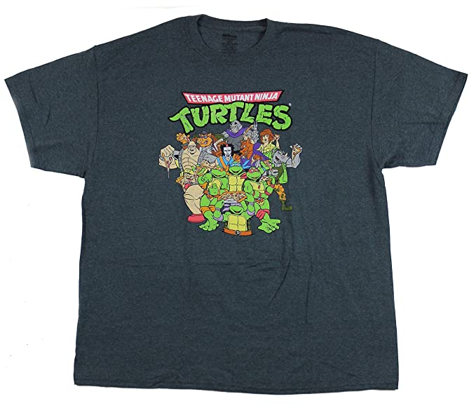 Amazon.com: Freeze Mens Teenage Mutant Ninja Turtles Cast T ...