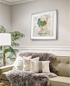WEXFORD HOME Turtle in Seagrass I -Framed Giclee Print 24 x 24