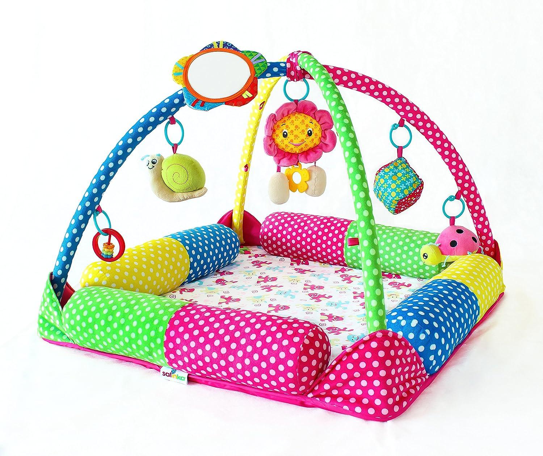 baby activity mat baby einstein caterpillar  friends play gym  - salinka baby activity play gym superior quality crawling baby