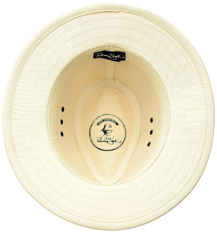 Sun Protection Panama Jack Original Canvas Safari Hat UPF 50 2 1//2 Brim