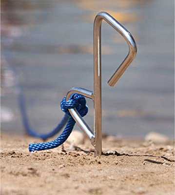 Chrome Plated Sand/Shallow Water Anchor Spike [MarineTech Products] detail review