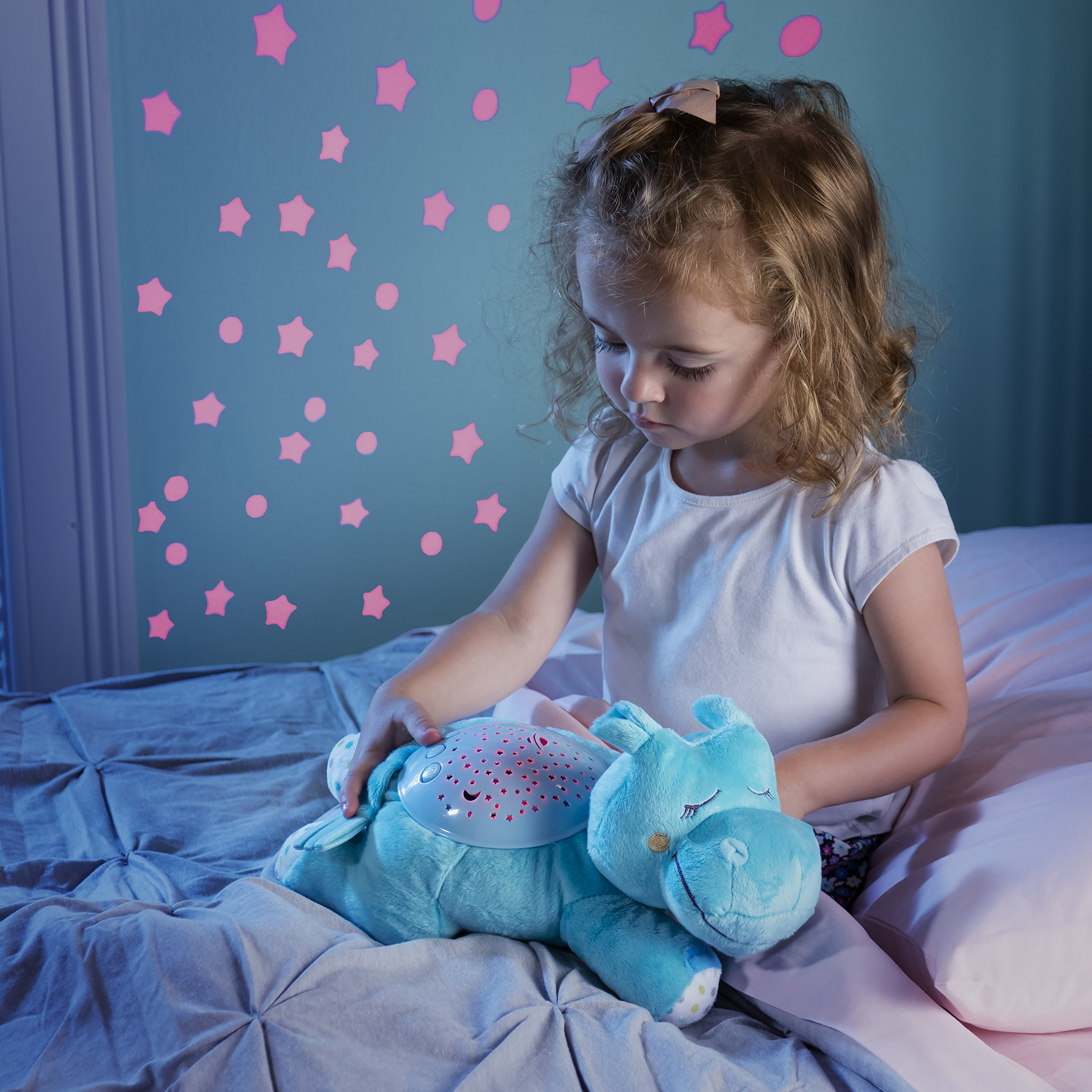 Summer Slumber Buddies Projection and Melodies Soother, Dozing Hippo by Summer Infant