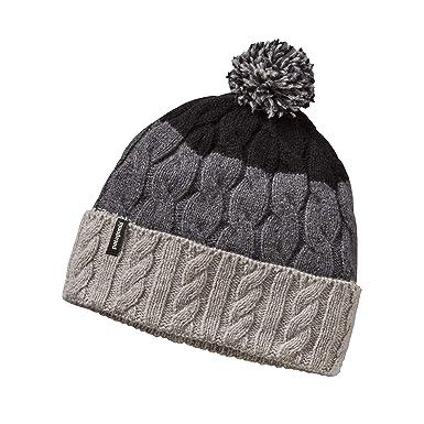 82117d59c Patagonia Hats Pom Bobble Hat - Grey: Amazon.co.uk: Clothing