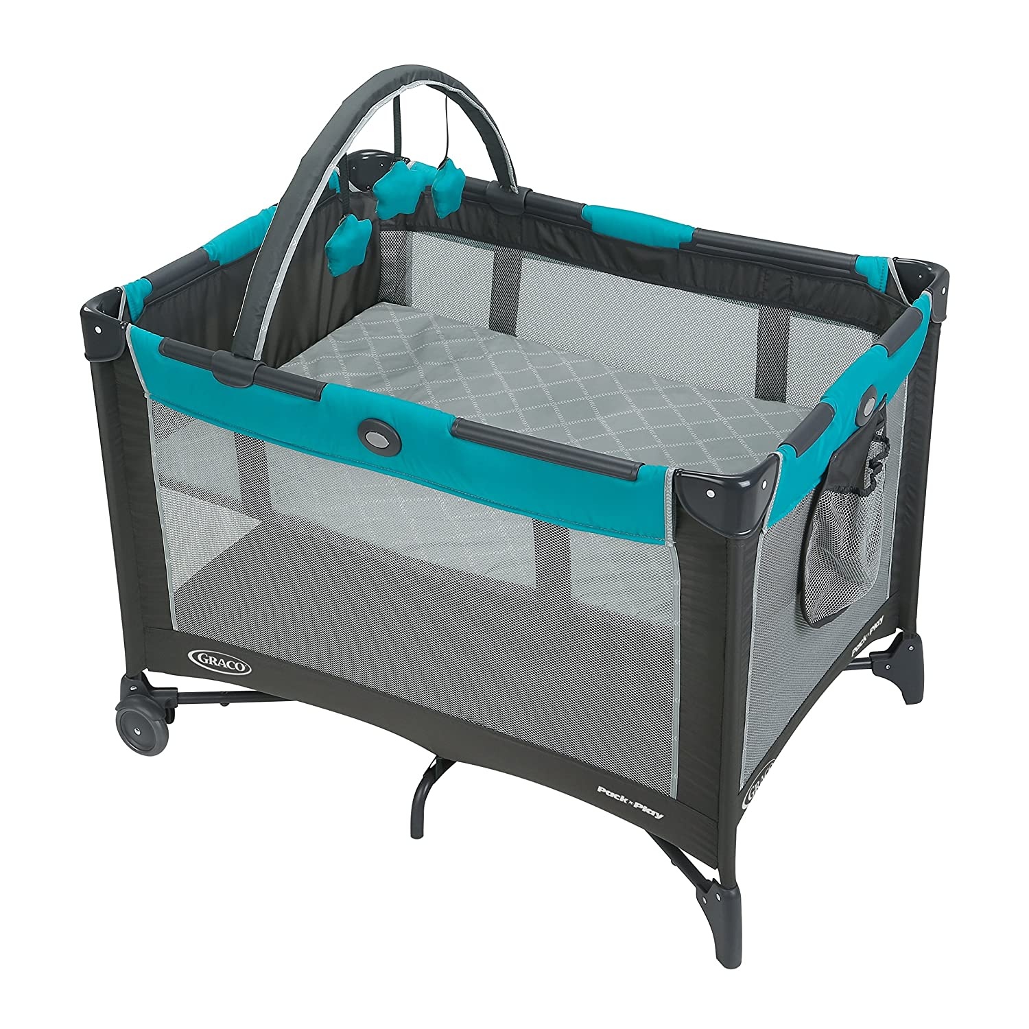 Graco Pack 'n Play Playard Bassinet, Finch 2013810