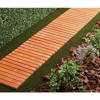8 Ft. Cedar/Fir Slat Straight Walkway