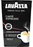 Lavazza Caffe Espresso, 100% Premium Arabica Ground Coffee, 250 gm