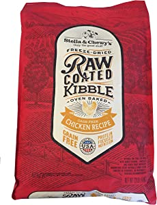 Stella & Chewy's Raw Coated Chicken Recipe Dog Food 22lb