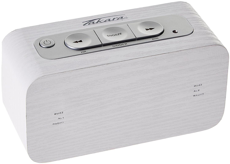 Takara KL90 - Radio Despertador con MP3 (Importado)
