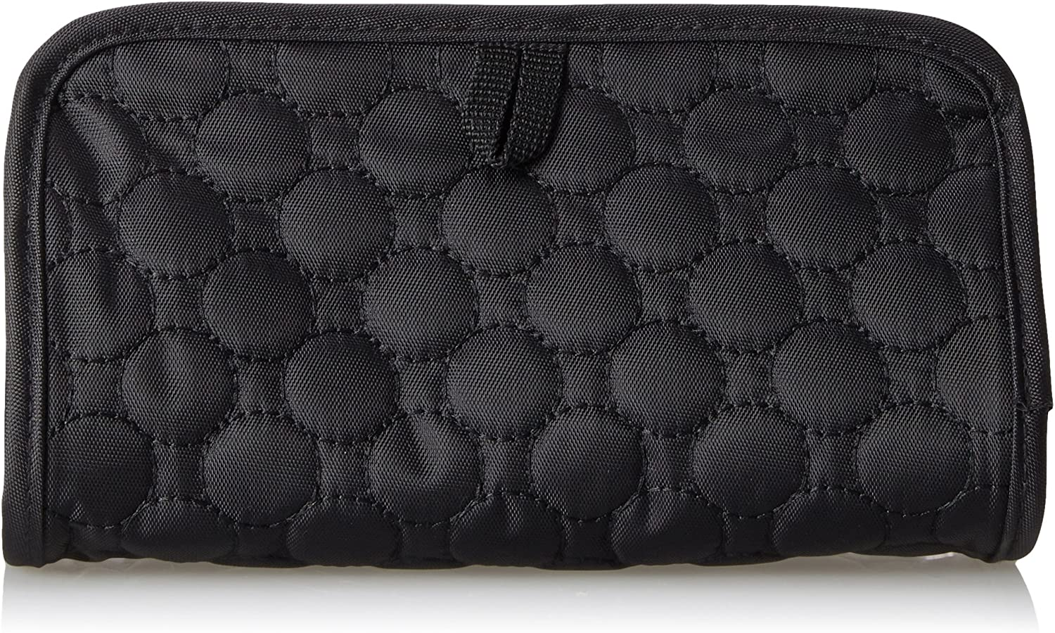 Travelon Luggage Jewelry and Cosmetic Clutch Black Quilted