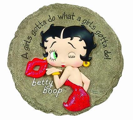 Amazon.com: Spoontiques Betty Boop Peldaño: Jardín y Exteriores