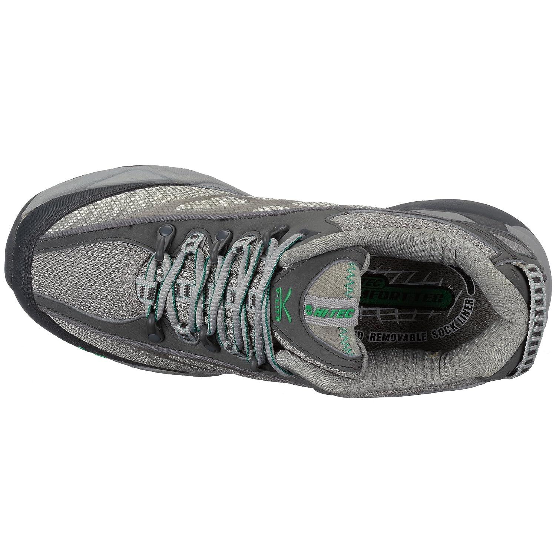 Hi Tec V-Lite Lightning Hpi W` HOV1095036, Damen Sportschuhe - - Sportschuhe Running Grau (Graphite/CoolGrau/Jade) 6e6542