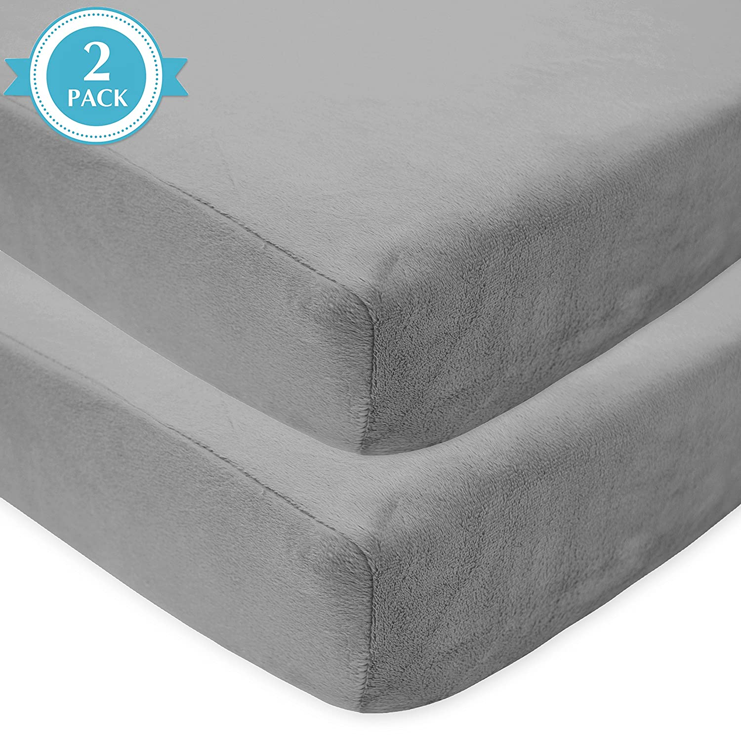 Ecru for Boys and Girls American Baby Company Heavenly Soft Chenille Fitted Crib Sheet for Standard Crib and Toddler Mattresses