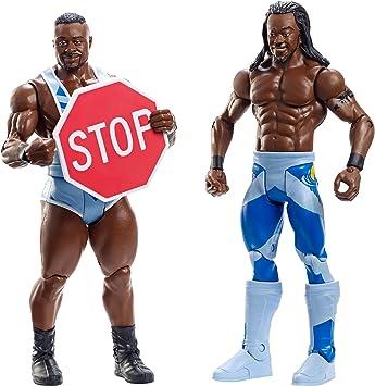 WWE Battle Pack Series #36: Big E vs. Kofi Kingston: Amazon.es: Juguetes y juegos