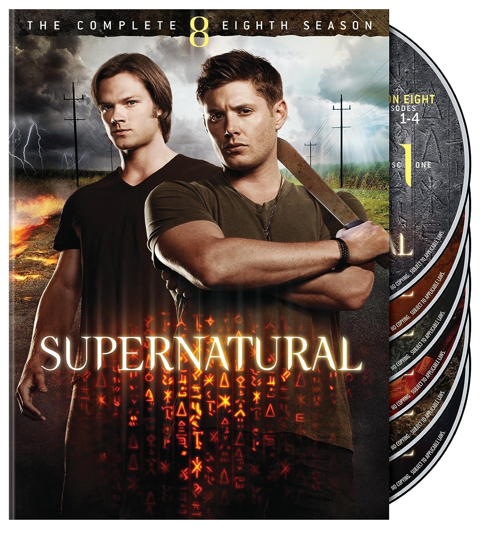 Supernatural: S8 (DVD)