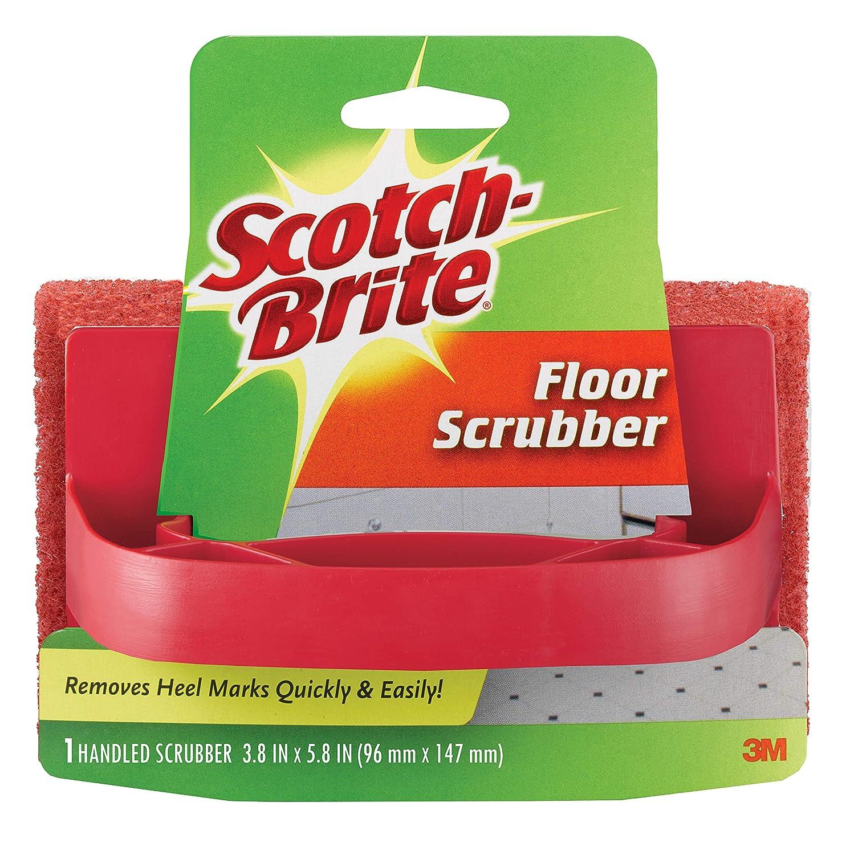 Scotch-Brite 7722 Handled Floor Scrubber, 3.8 in. x 5.8 in, 1/Pack