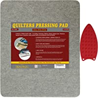 "Wool Pressing Pad- 24"" x 18"" Quilting Ironing Pad by Savina - Bonus Color Wheel. Take Your Quilting or Other Textile…"
