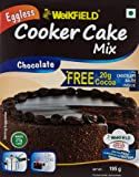 Weikfield Cooker Cake Mix, Chocolate, 175g with Free Cocoa for Chocolate Sauce, 20g