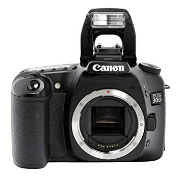 Amazon.com : Canon EOS 30D 8.2MP Digital SLR Camera (Body Only ...